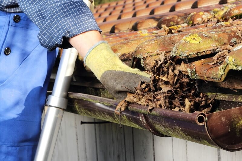 gutter cleaning | prepare your home for spring | prep your home for spring