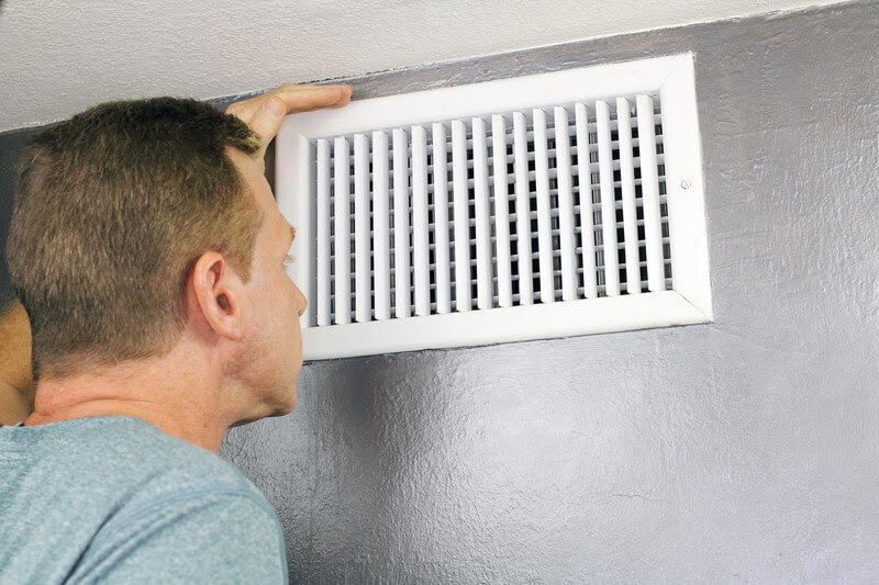 cleaning vents | prepare your home for spring | prep your home for spring